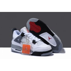 Fashion Air Jordan IV 4 White Cement