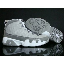Amazing Air Jordan IX 9 Cool Gray