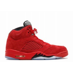 Cool Air Jordan V 5 Red Suede