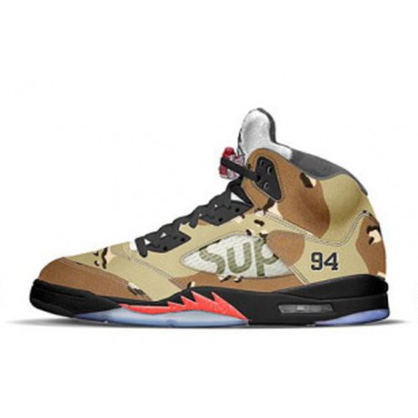 newest collection 22e97 33acf New Sale The Best Air Jordan V 5 Supreme Camo