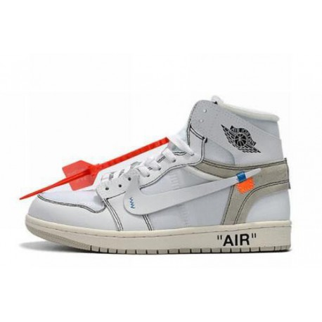 detailed look 4618e 6c64c The Ten Off White,The 10 Off White,The Most Comfortable OFF-WHITE x Air  Jordan 1 White-110 The Most Comfortable OFF-WHITE x Air