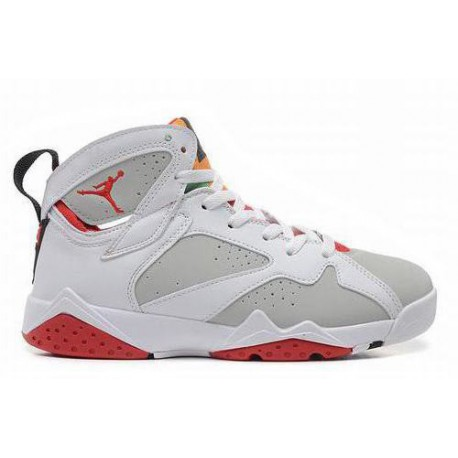 half off 0f334 9cd5a Air Jordan 7 White Light Silver True Red,Jordan Aj1 Mid White True Red  Light Silver Black,Most Popular Jordan VII 7 White/True