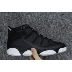 The Most Comfortable Air Jordan VI 6 Black White Ring