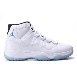 Popular Jordan XI 11 White-Legend blue