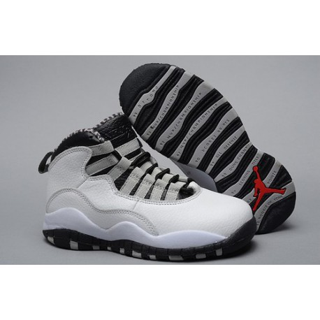 Most Popular Air Jordan X 10 Steel Kids