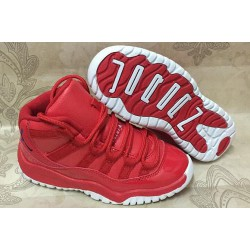 Best Sellers Air Jordan XI 11 Red Kids