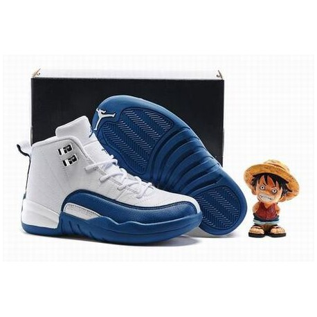wholesale dealer 42ccf 04367 Nike Air Jordan 12 Xii Retro White French Blue,Jordan French Blue  13,Fashion Jordan XII 12 French Blue Kids