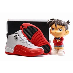 Popular Air Jordan XII 12 Cherry Kids