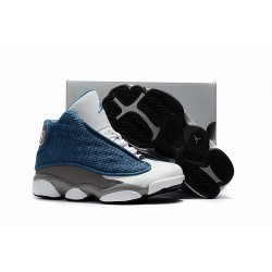 Nike-Air-Jordan-13-Xiii-Retro-Flint-Mens-Nike-Air-Jordan-Retro-13-Xiii-Blue-Grey-White-Fashionable-Retro-Air-Jordan-XIII-13-Kid