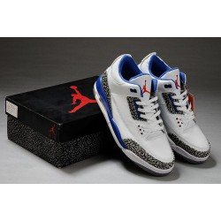 Cool Retro Air Jordan III 3 True Blue Women