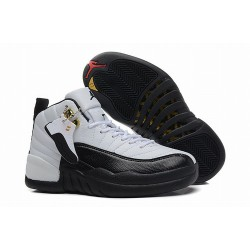 Air-Jordan-12-Xii-Retro-Low-White-Black-Taxi-Taxi-Air-Jordan-12-Amazing-Air-Jordan-XII-12-Taxi-Women