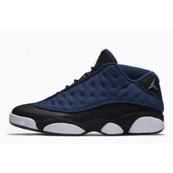 Amazing jordan 13 low brave blue women